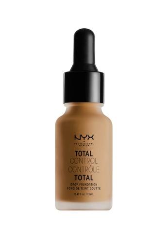 NYX Professional MakeUp brown NYX PROFESSIONAL MAKEUP Total Control Drop Foundation - Mahogany 15FCDBEBAD05BEGS_1