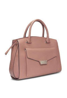 6bcd9334a0fc 65% OFF Jones New York Signature Nina Mid Satchel Pink Bag RM 479.00 NOW RM  167.90 Sizes One Size · Jones New York Signature silver Margot ...