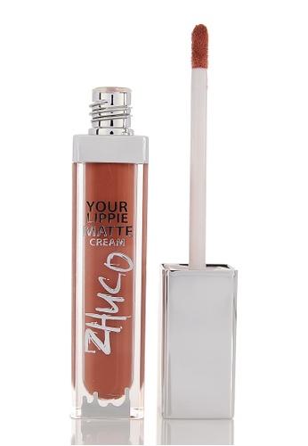 Zhuco Cosmetics brown Lippie Matte Cream 05 Choco ZH711BE0S2IAMY_1