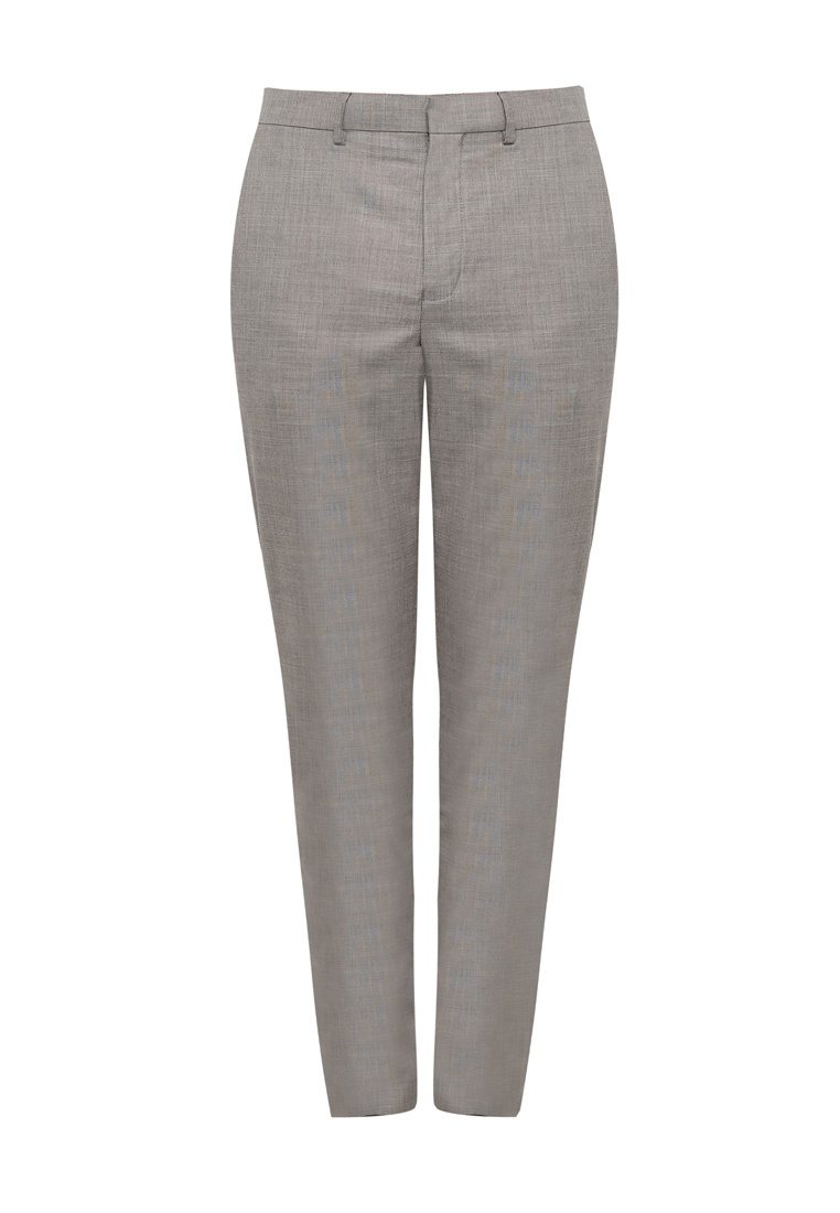 Trousers Grey Suit Marl Grey Skinny Fit Topman qw7YHIY