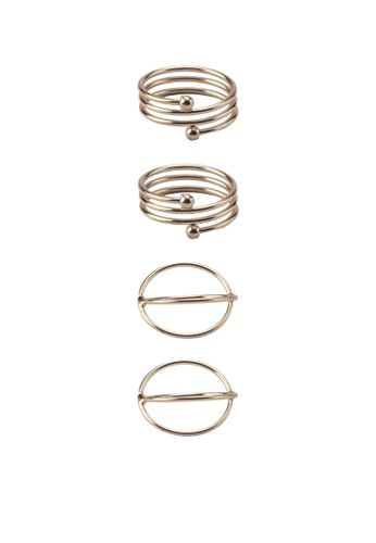 四入層次造型戒指,esprit taiwan 飾品配件, 飾品配件