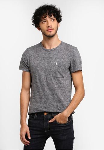Jack Wills grey Ayleford Pocket T-shirt 2E2C6AAEC9384BGS_1