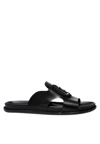 sale uk cheapest differently Stylish Cowhide Flip Flops VMS190