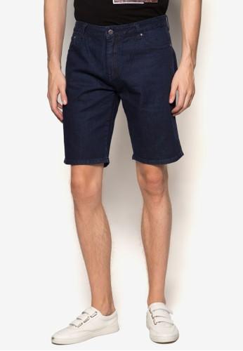 水洗丹寧esprit床組短褲, 服飾, 短褲