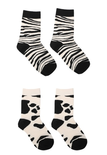 Milliot & Co. 黑色 Keira 襪子 DDAE0AAC48943EGS_1