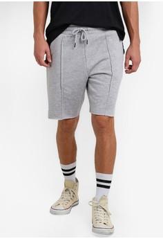 harga Fleece Shorts/Raw Edge Zalora.co.id