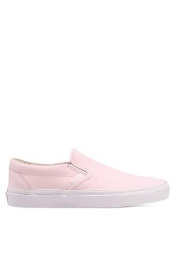 VANS pink Classic Vansbuck Slip-On 3F56DSHF68F84AGS_1
