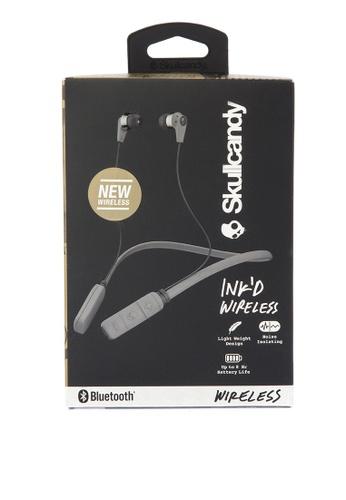 SkullCandy grey Ink'd Wireless Wearables SK811AC0KBHWPH_1