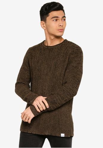 Only & Sons black Sato Life Multi Knit Sweater FF233AA0B9CC8FGS_1