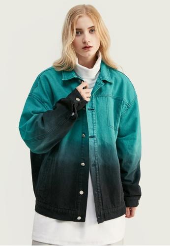 Twenty Eight Shoes Trend Dip-Dyed Denim Jacket 9733W 23948AA151FAF6GS_1