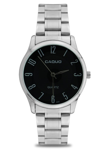 Dooka silver CAQUO Classic Men's Analog Watch 656 DO079AC77IQWPH_1