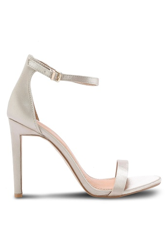 Public Desire beige Avril Barely There Heels PU378SH67BKYMY_1