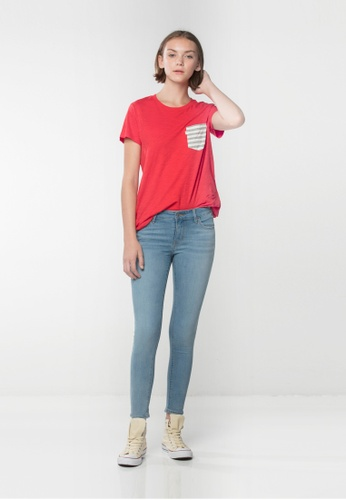 Levi's blue Levi's® 711 Skinny Ankle Jeans DD266AA499A4B3GS_1