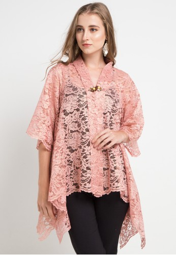 LUIRE by Raden Sirait pink Bf-Kebaya Pingky E4908AAD5A82DAGS_1