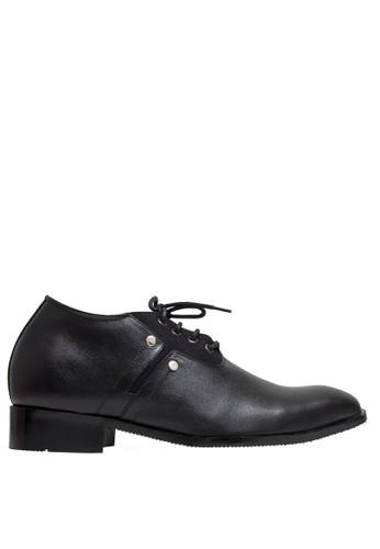 Keeve black Keeve Shoes Peninggi Badan Formal 134- Hitam CAA32SH6F95216GS_1