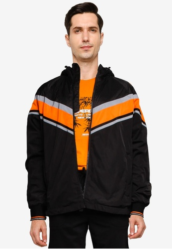SUPERDRY black Eclipse Cagoule E46BDAA4AAFD23GS_1