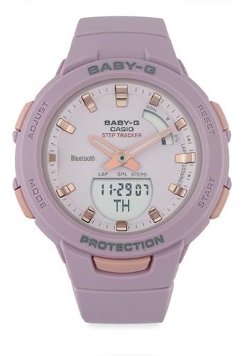 Baby-G pink Women Analog Watches Bsa-B100-4A2Dr A64F7ACA116553GS_1