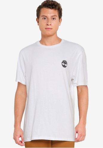 Timberland white Back Tree Graphic Tee ACD85AAB280EF5GS_1