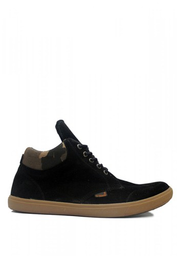 D-Island black D-Island Shoes Kets High Loafers Classic Suede Black DI594SH99SFOID_1