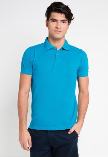 Hassenda blue Short Sleeve HA130AA0VPF0ID_1