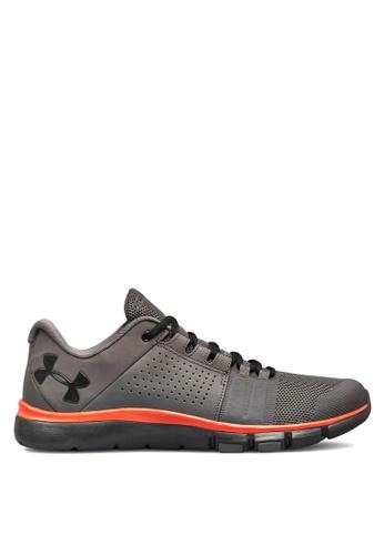 Under Armour grey UA Strive 7 NM Running Shoes 17623SHF650B4FGS_1