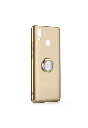MobileHub gold Xundd Earl X-Ring Series Ultra Slim Back Case For Vivo Y85 3D97CAC059DDCBGS_1