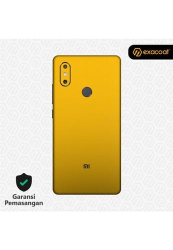 Exacoat Xiaomi Mi 8 SE Skins True Colors - Lemon Yellow B6176ESE170139GS_1