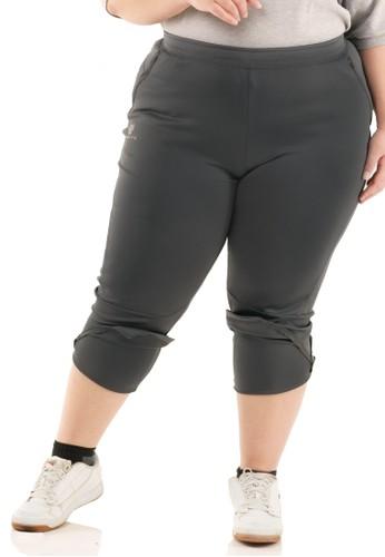 Tiento grey Tiento Celana Jumbo Olahraga Wanita Training Panjang 8 Series Big Size Sporty Dark Grey 626ACAAF352D92GS_1