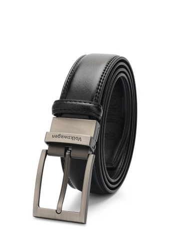 Volkswagen black Men's Belt - 35mm Reversible Belt B8AC8ACF695678GS_1