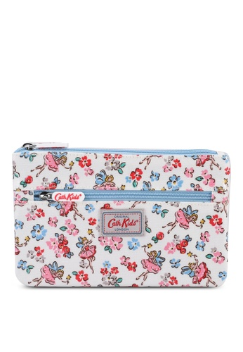 Cath Kidston beige Little Fairies Kids Zip Pencil Case 993DFKCE9169A3GS_1