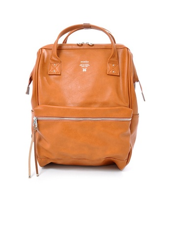 Anello brown anello Large Premium PU backpack 2C570AC6BCCA40GS_1