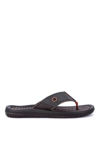 Cartago black Fiji IV Dedo Ad Flip Flops AD809SH9078834GS_1