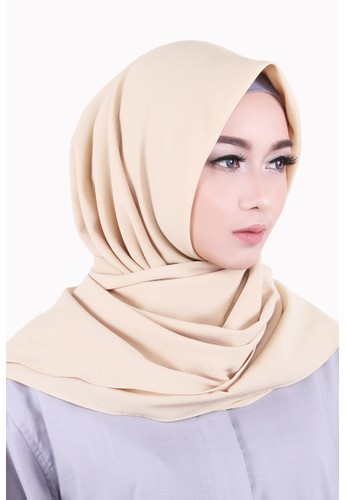 Zelena Shaylee Hijab Square - Butter Cream