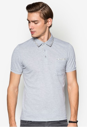 XM-Polo With Micro Printed Kantong Square