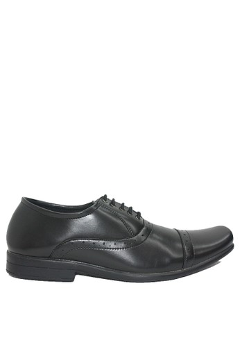 Dr. Kevin black Dr. Kevin Men Dress & Bussiness Formal Shoes 13345 - Black ABBA1SH97A158CGS_1