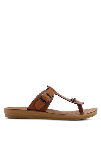 NOVENI 褐色 Low Profile Sandals 9B72FSH455EECCGS_1