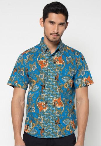 ASANA Short Sleeve Batik Prima Cotton