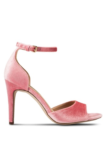Dorothy Perkins pink Pink Shay Heeled Sandals DO816SH15UIMMY_1