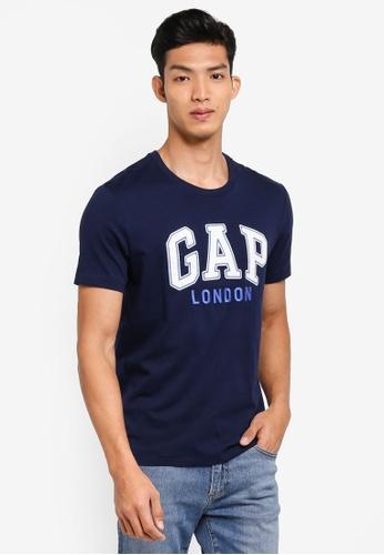 c3c3ebea910 GAP navy London City T-Shirt 42BDBAAC082178GS 1