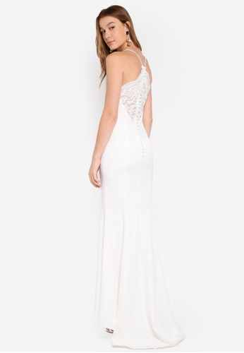 JARLO LONDON white Addilyn Dress CCD21AAA96BAFEGS_1
