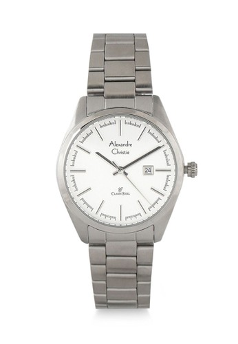 Alexandre Christie silver Alexandre Christie Jam Tangan Wanita - Silver White - Stainless Steel - 8560 LDBSSSL B00E3ACCCDD25DGS_1