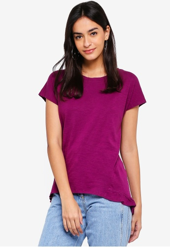 ESPRIT purple Short Sleeve T-Shirt 84B06AAB071810GS_1
