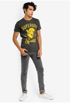53dac790669 48% OFF Superdry Gladiators Tee S$ 69.00 NOW S$ 35.90 Available in several  sizes