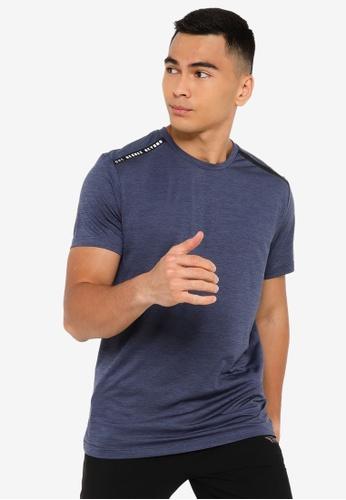 361° blue Cross Training Short Sleeve T-shirt 9B8AFAA1DB6BF2GS_1