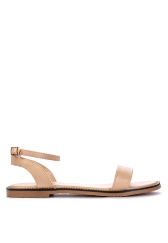 798fe29a512 Shop Sofab! Oliver Flat Sandals Online on ZALORA Philippines