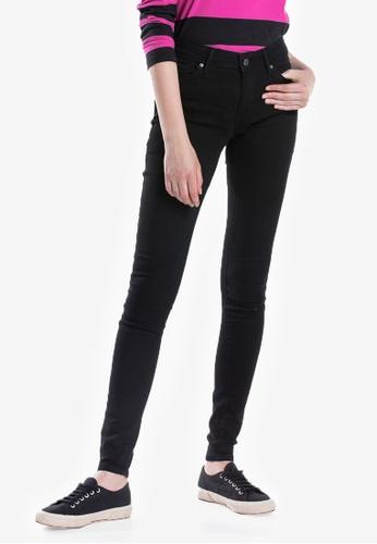 Levi's black Womens 711 Skinny Jeans 56E0FAA929C521GS_1