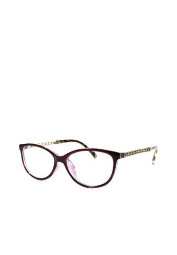 f1414ef3133da Shop HEY SWEETY Cat Eye Clear Lens Glasses Online on ZALORA Philippines