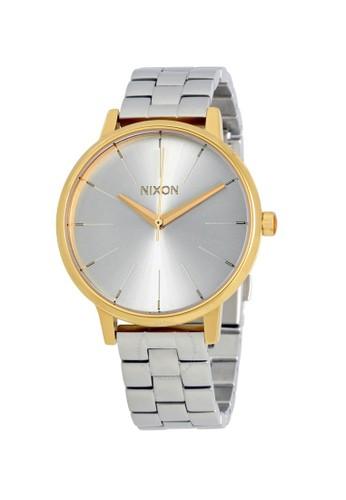Nixon silver KENSINGTON GOLD/SILVER/SILVER 410A7ACBC913F5GS_1
