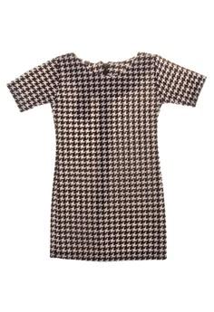 Ariana Quarter Sleeve Bodycon Dress Kid