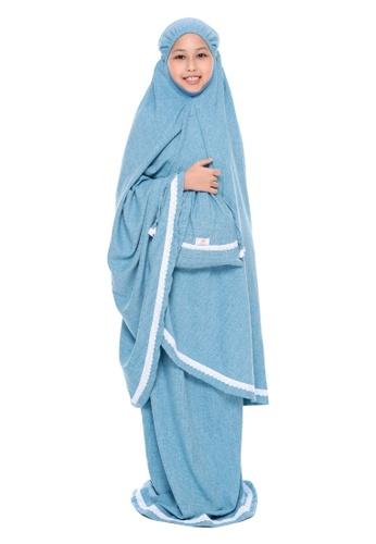QUTN Telekung Rania in Jade Turquoise 786E5KC2485035GS_1